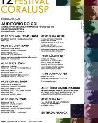 12º Festival CORALUSP