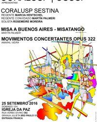 CORALUSP & OSUSP – Misa A Buenos Aires 'Misatango'