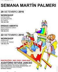 Workshops – A Evolução da Orquestra de Tango & Arranjos Corais de Tango