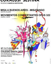 CORALUSP Sestina apresenta: Misatango